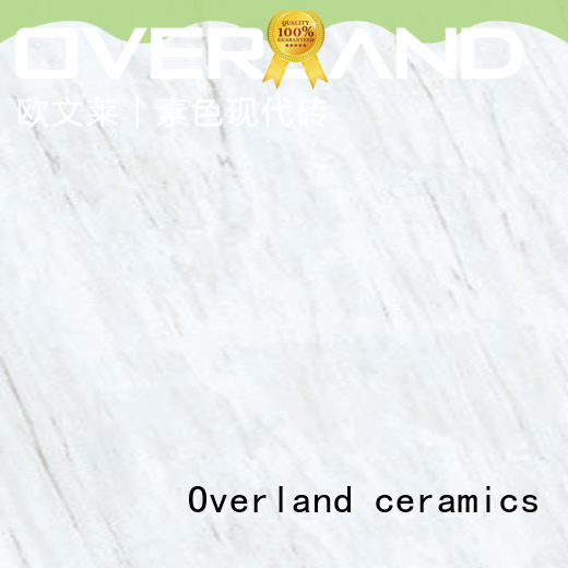 Overland ceramics wholesale cream marble floor tiles factory for kitchen