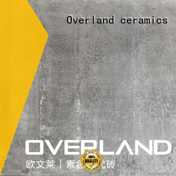 Overland ceramics patterned floor decorative cement tiles wholesale for home