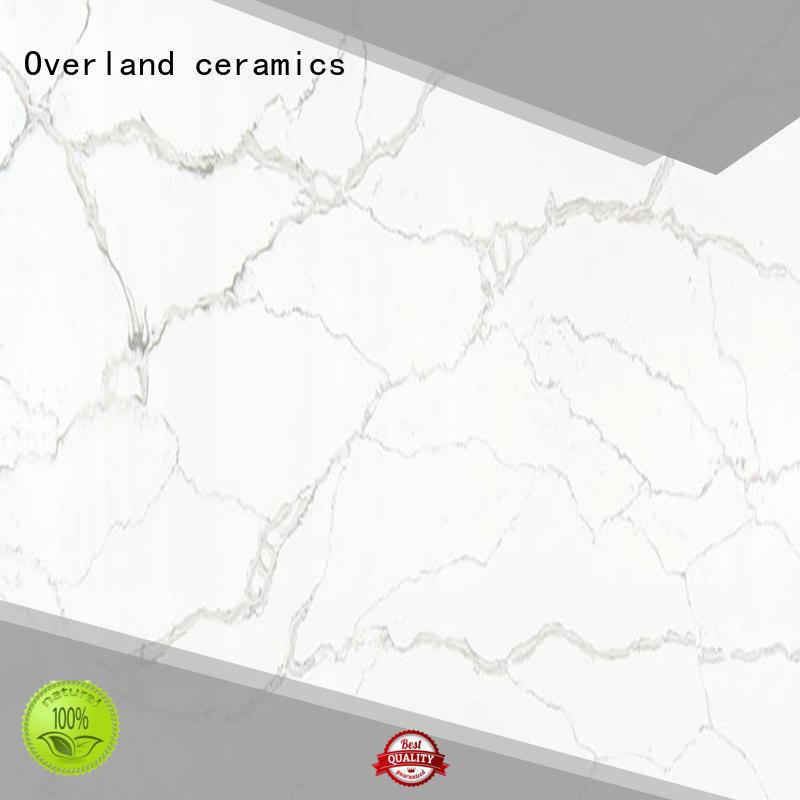 Overland ceramics decorative high gloss laminate worktops supplier for hotel
