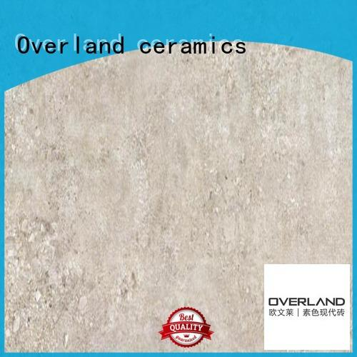 Overland ceramics concrete cement tile bathroom supplier for hotel