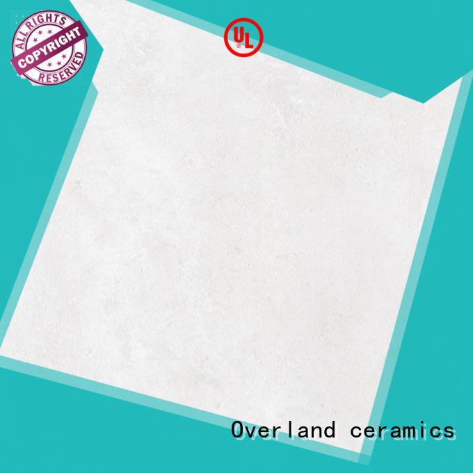 Overland ceramics outdoor floor cement tile bathroom design for hotel