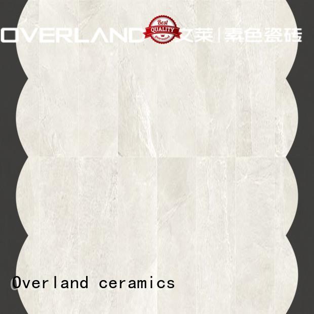 Overland ceramics natural stone wall tiles design for garden