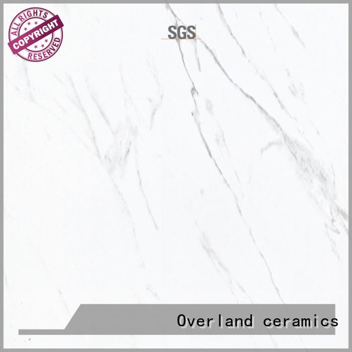 durable white stone tile statuario factory price for office