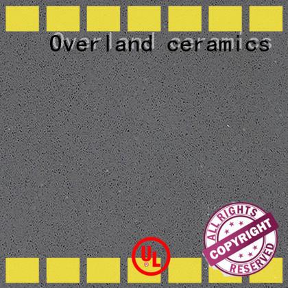 Overland ceramics white black kitchen worktops from China for kitchen