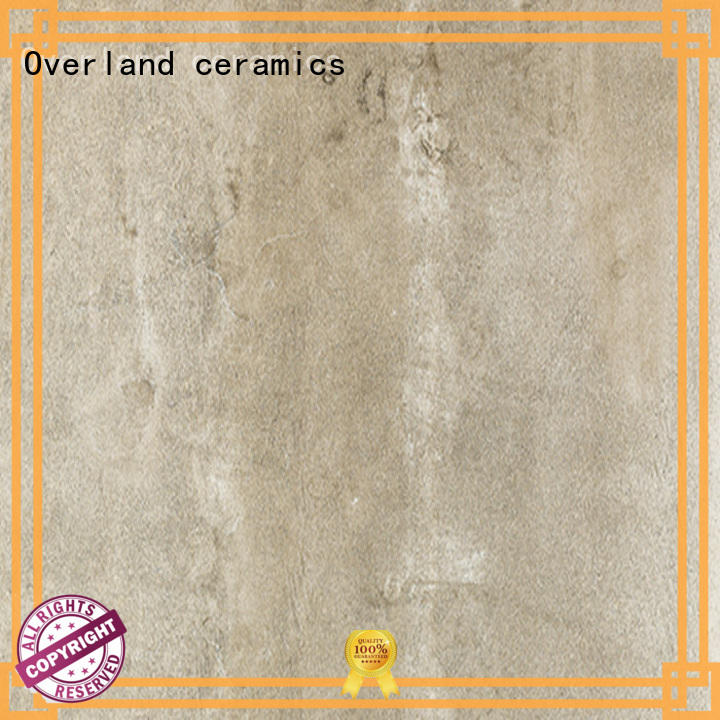 Overland ceramics shower floor outdoor cement tiles supplier for hotel