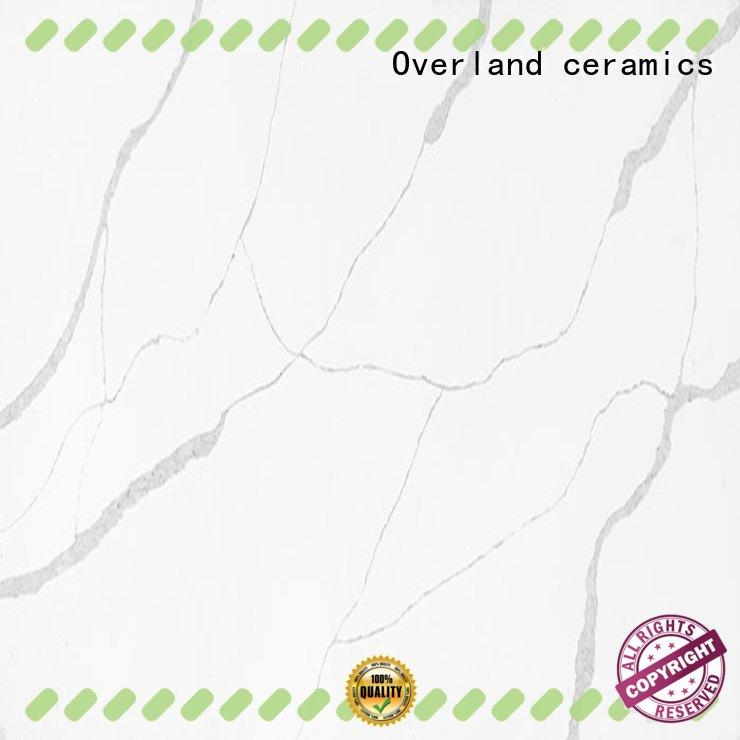 Overland ceramics brown kitchen worktops factory price for bathroom