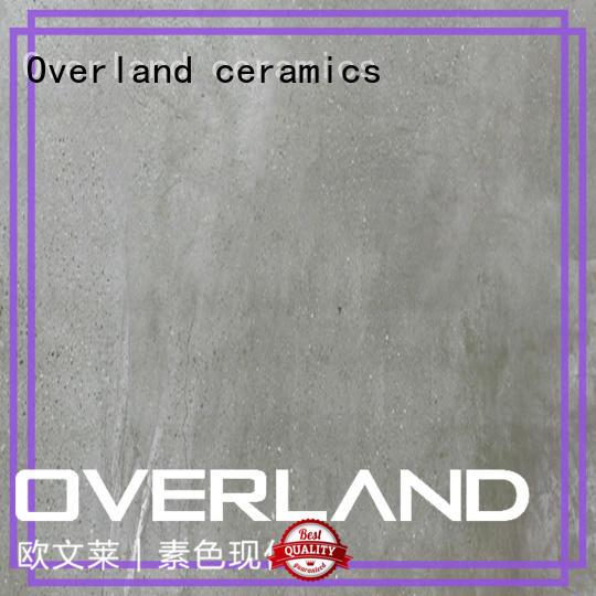 Overland ceramics stronger decorative stone tiles factory price for garage floor