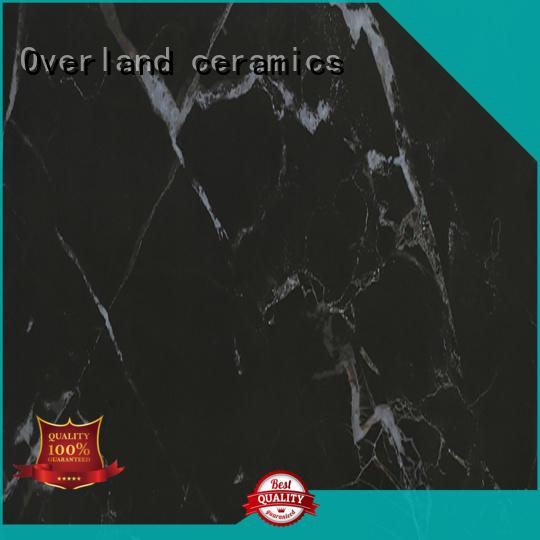Overland ceramics patterned floor marble ceramic tile directly price for bedroom