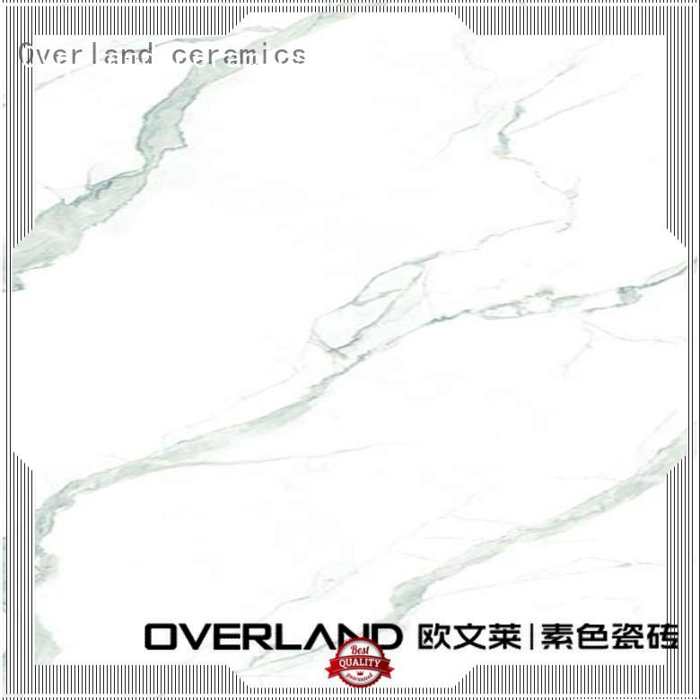 Overland ceramics marble tile suppliers manufacturers for bedroom