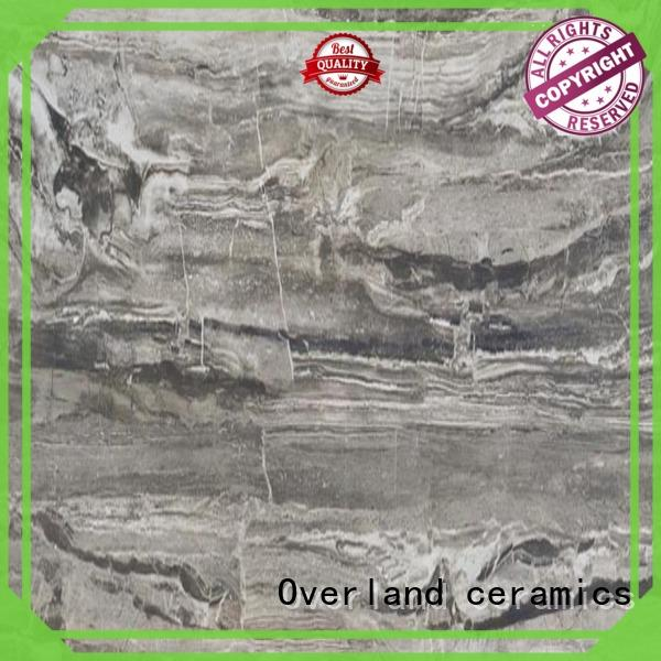 Overland ceramics qip6575 black and white marble tile promotion for kitchen