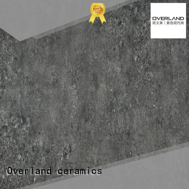 Overland ceramics patterned floor patterned cement tile wholesale for home
