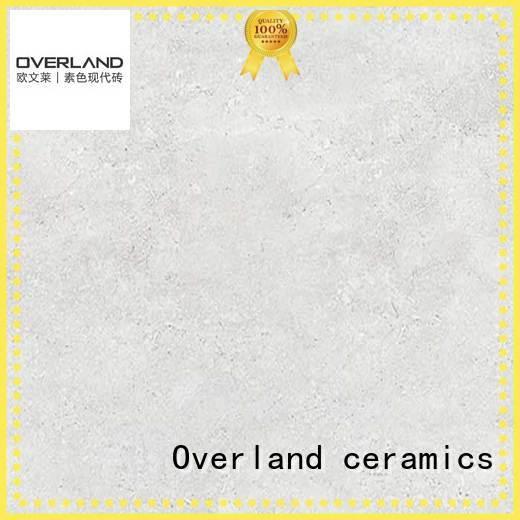 Overland ceramics sgivs4197 white stone tile wholesale for bathroom