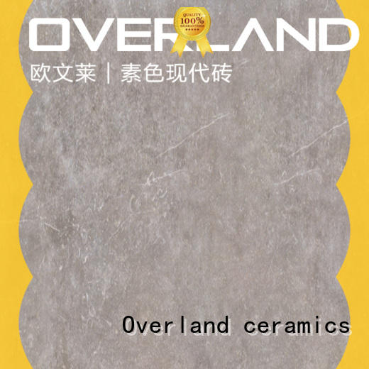 Overland ceramics travertine white stone tile wholesale for office