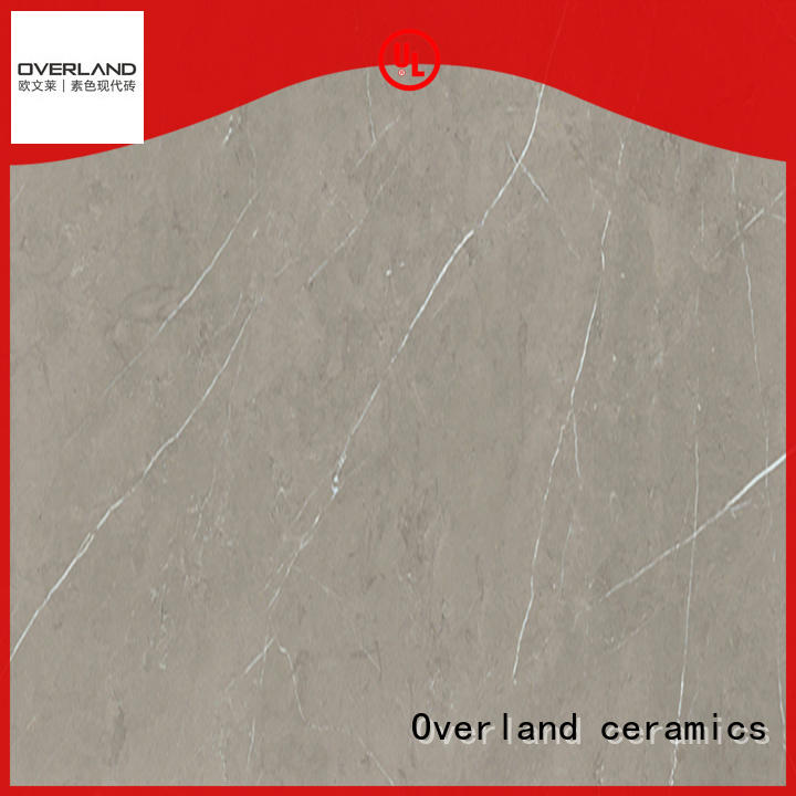 Overland ceramics best brown marble tile from China for pool
