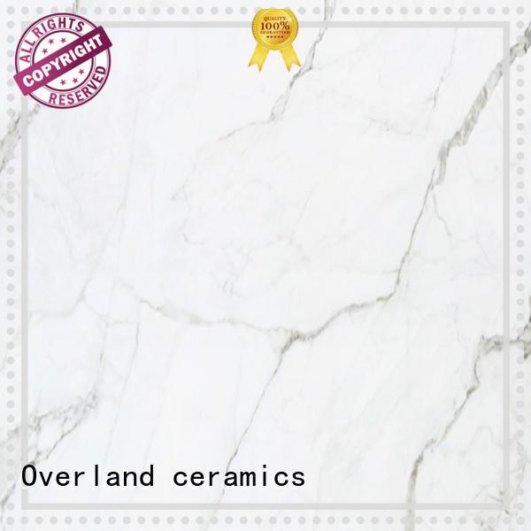 Overland ceramics resistance stone tile backsplash wholesale for garage floor