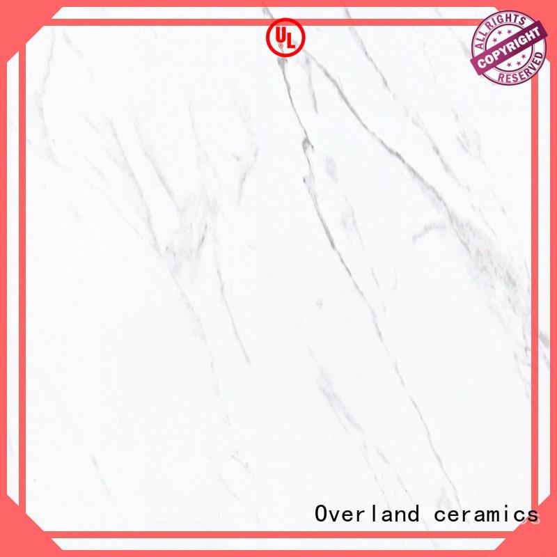 Overland ceramics style carrara porcelain tile manufacturers for kitchen
