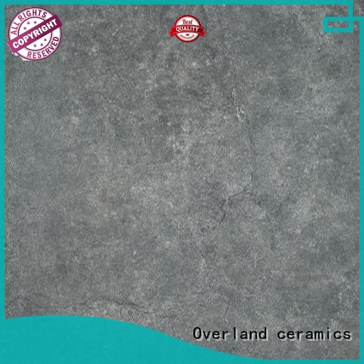 patterned floor grey cement tile ceramic wholesale for hotel
