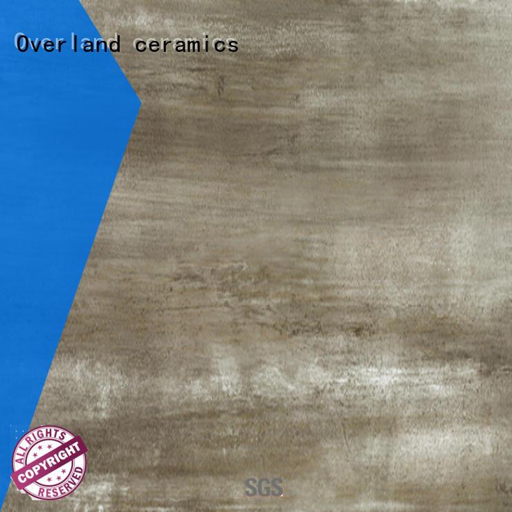 Overland ceramics durable wooden floor tiles online for bedroom