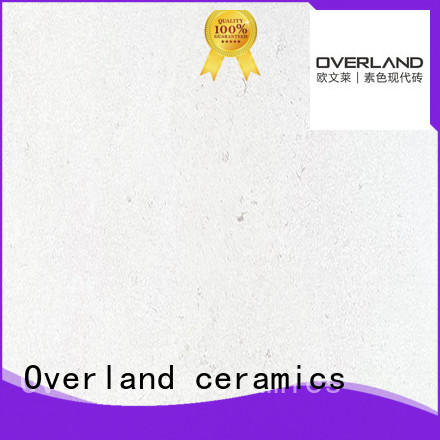 Overland ceramics replacement white granite worktop factory price for kitchen