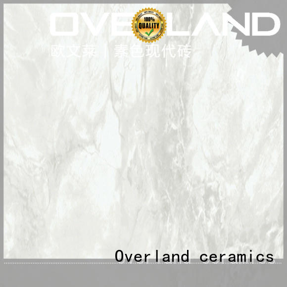 Overland ceramics subway stone style tiles factory price for garage floor