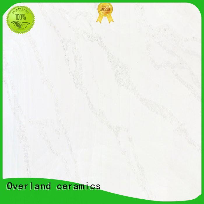 Overland ceramics fitting brown kitchen worktops factory price for livingroom